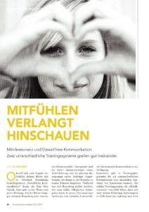 Mimikresonanz Gewaltfreie Kommunikation Al Weckert